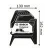 Bosch GCL 2-15 kombinovani laser 15m sa tačkama 0601066E00 4